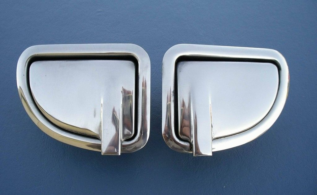 1955 1956 Chevy 2-Door Sedan Back Seat Ashtrays